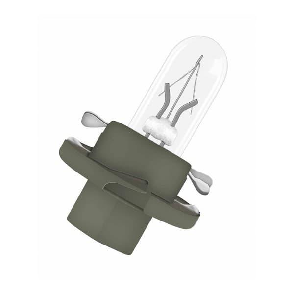 Set de 10, Osram 2722MFX Ampoules B8 5 D 12V 2W