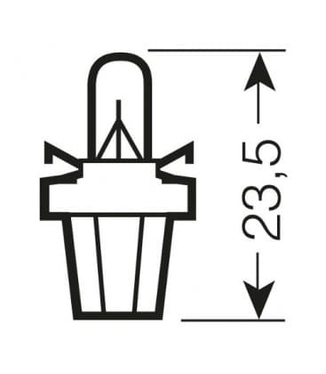 2752 MFX 12V 1.5W BX8.5d Original Line
