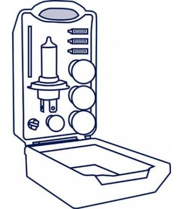 MiniBox para coches 12V CLKM H7 ALBM 64210