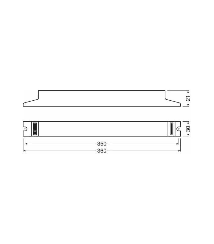 Qtp5 2x14 35w 220v Quicktronic Professional Osram Svetila Com