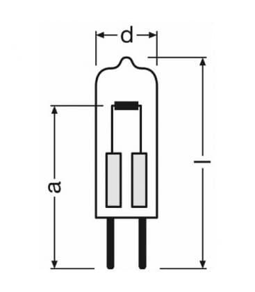 Halostar Oven 64408 5W 12V G4