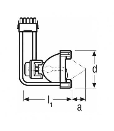HXP 120W/45 C VIS