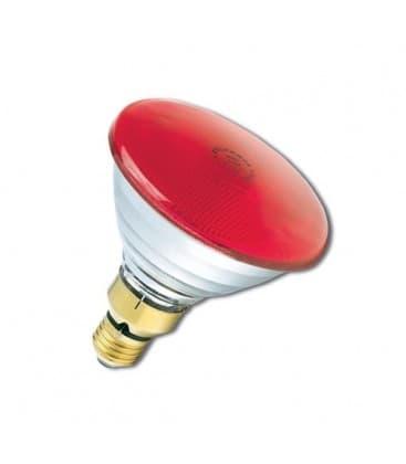 PAR38 80W 240V FL E27 Red 0019652 5410288196527