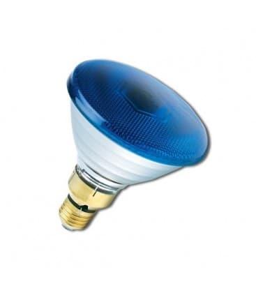 PAR38 80W 240V FL E27 Bleu 0019650 5410288196503