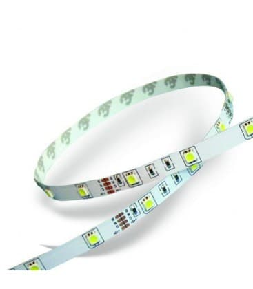 Strisce LED 12V 3528 2,4W/m IP20 bianco caldo