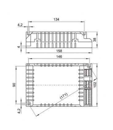 ELXd 242.807 2x26-42W TC-dEL/-tEL Regulable