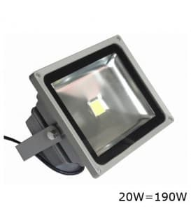 VT-4020 LED reflecteur  20W (190W) IP65 WW