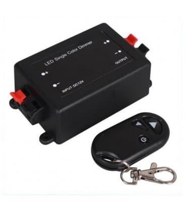 LED Controlador DC 12V/24V 96W/192W RF con control remoto