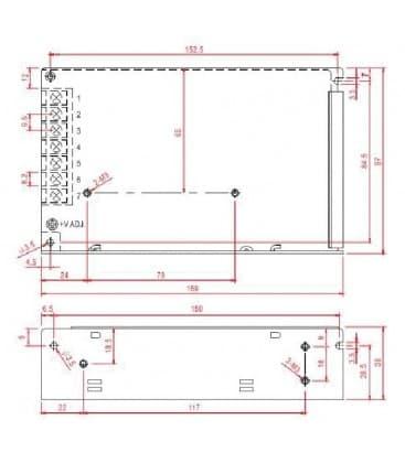 LED Netzteil 12V 120W 110-220V