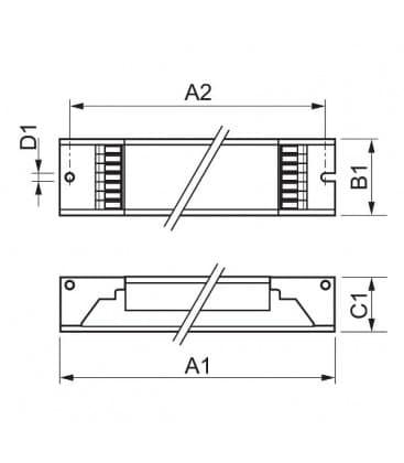 HF-Pi 3-4 14-24W TL5 PL-L 220-240V