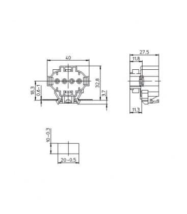 Lampholder, Base 2G7