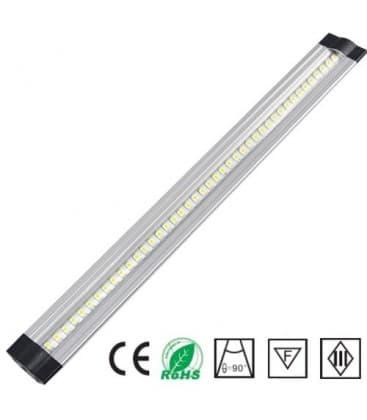 LED cabinet luce 12V 10W WW 500mm trapezio