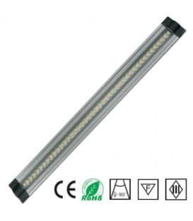 LED cabinet luce 12V 3W WW 300mm trapezio