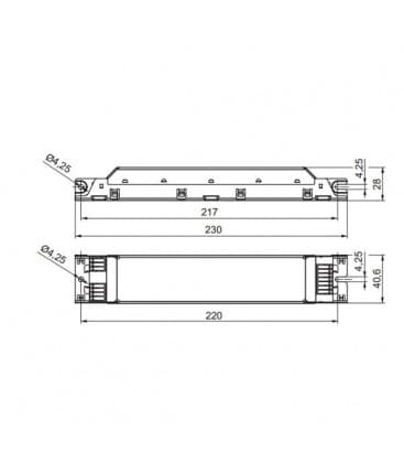 ELXc 336.214 3x36W T8
