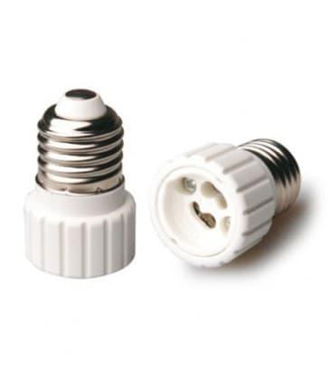 Adaptador de sostenedor lampara de E27 a GU10