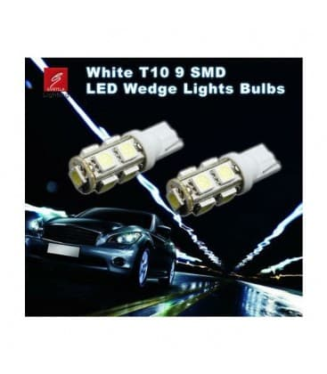 LED Retrofits  2W W5W 12V T10 13SMD 6000K
