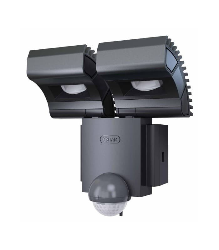 osram noxlite led spot 2x8w sensor gr ip44 41015. Black Bedroom Furniture Sets. Home Design Ideas