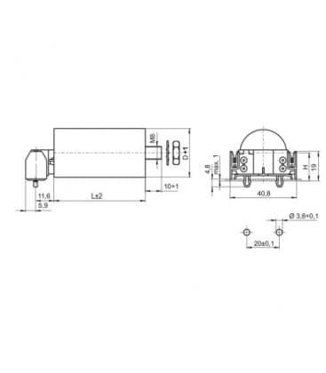 VS Condensatore   4mF 50/60Hz 250V 40934