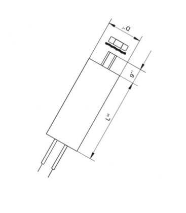 VS Condensador  40mF 50/60Hz 250V 40977