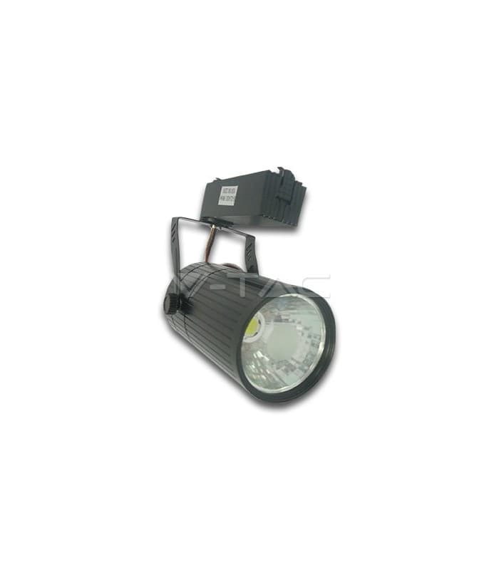 Shop Light With Reflector: V-Tac Led Reflector Light Track Light COB Black Body 10W