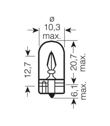 W2W 24V 2840 W2.1x9.5d