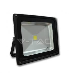 VT-4030 LED reflector 30W (250W) IP65 WW Vivienda grafito