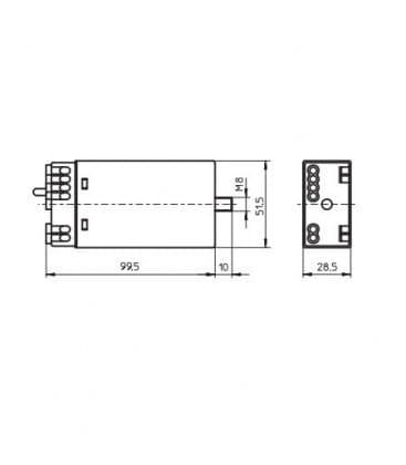 TwinLine EST 105/12.619 20-105W