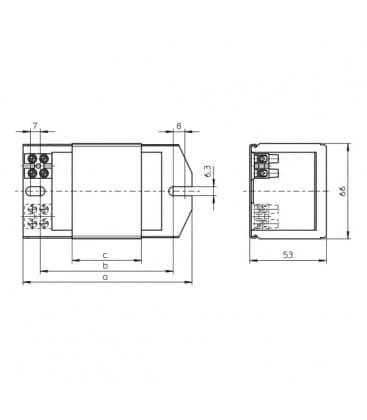 Ballast Q80.588 230V 50HZ HM