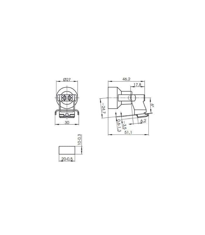 fassung e14 64307 108983 de. Black Bedroom Furniture Sets. Home Design Ideas