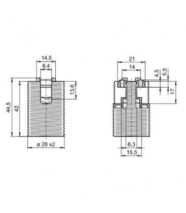 Lampholder E14 64101