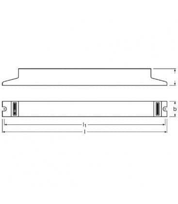 QTP-dL 1x36-40W 230-240V Quicktronic professional