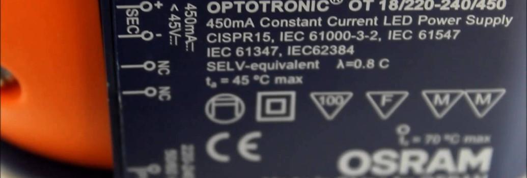 LED fuentes de alimentación