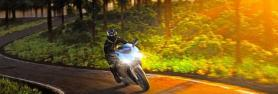 Lampen für Motorräder