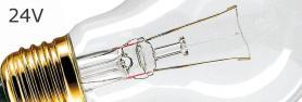Le lampadine classiche 24V