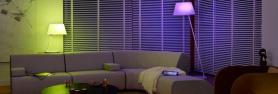 Lámparas LED de colores