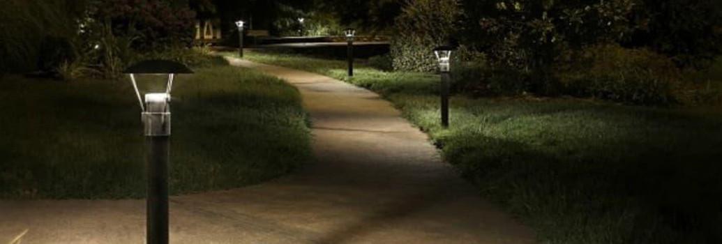 Luminarias para exteriores