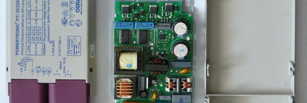 Predstikalne naprave, elektronske HID