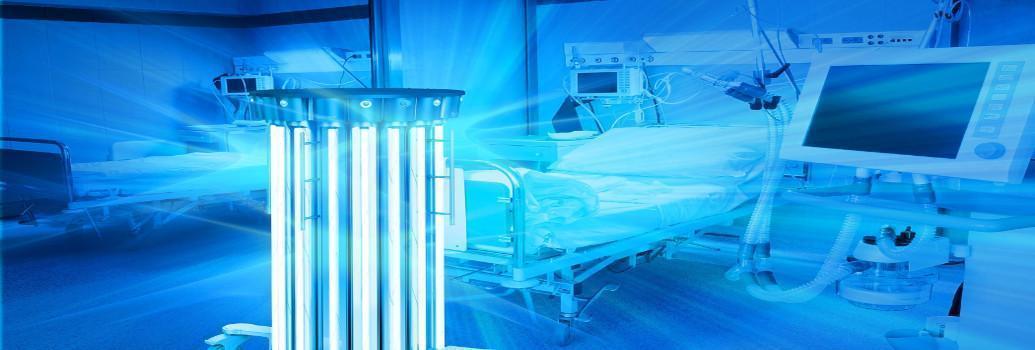 UVC Lichter Desinfektion