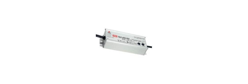 Fuentes de alimentación Led de 24V Mean Well serie HLG