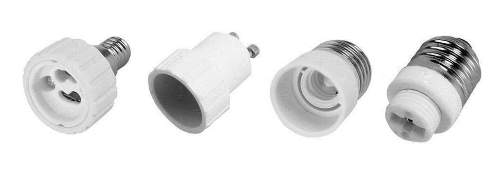 Lamp holder adapters, converters