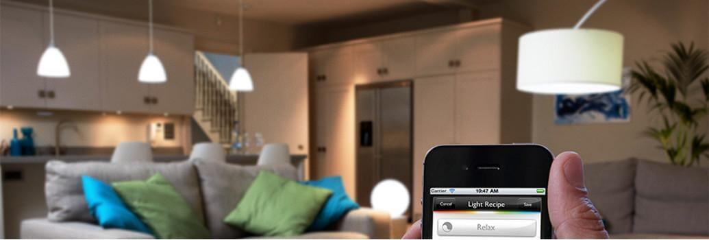 Lampade intelligenti, automazione dell'illuminazione