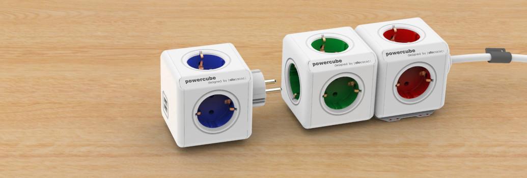 PowerCube, elektrisch Verlängerungskabel