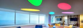 Colored light bulbs